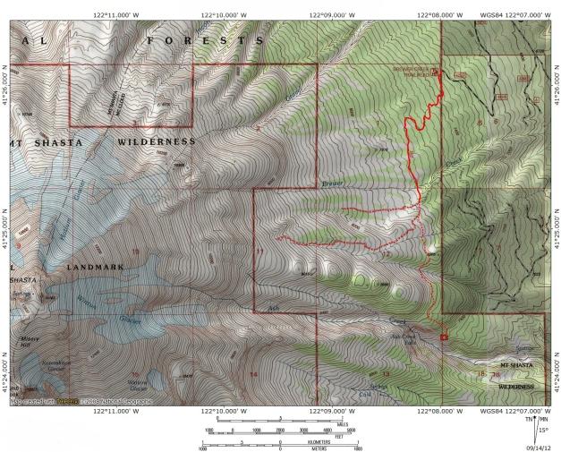 Brewer Creek Map
