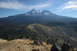 Mount Shasta viewed from the summit of Yellow Butte.
