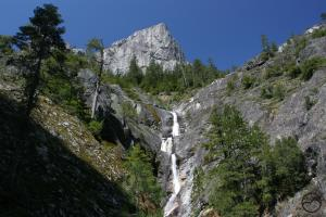 Root Creek Falls and Castle Dome.