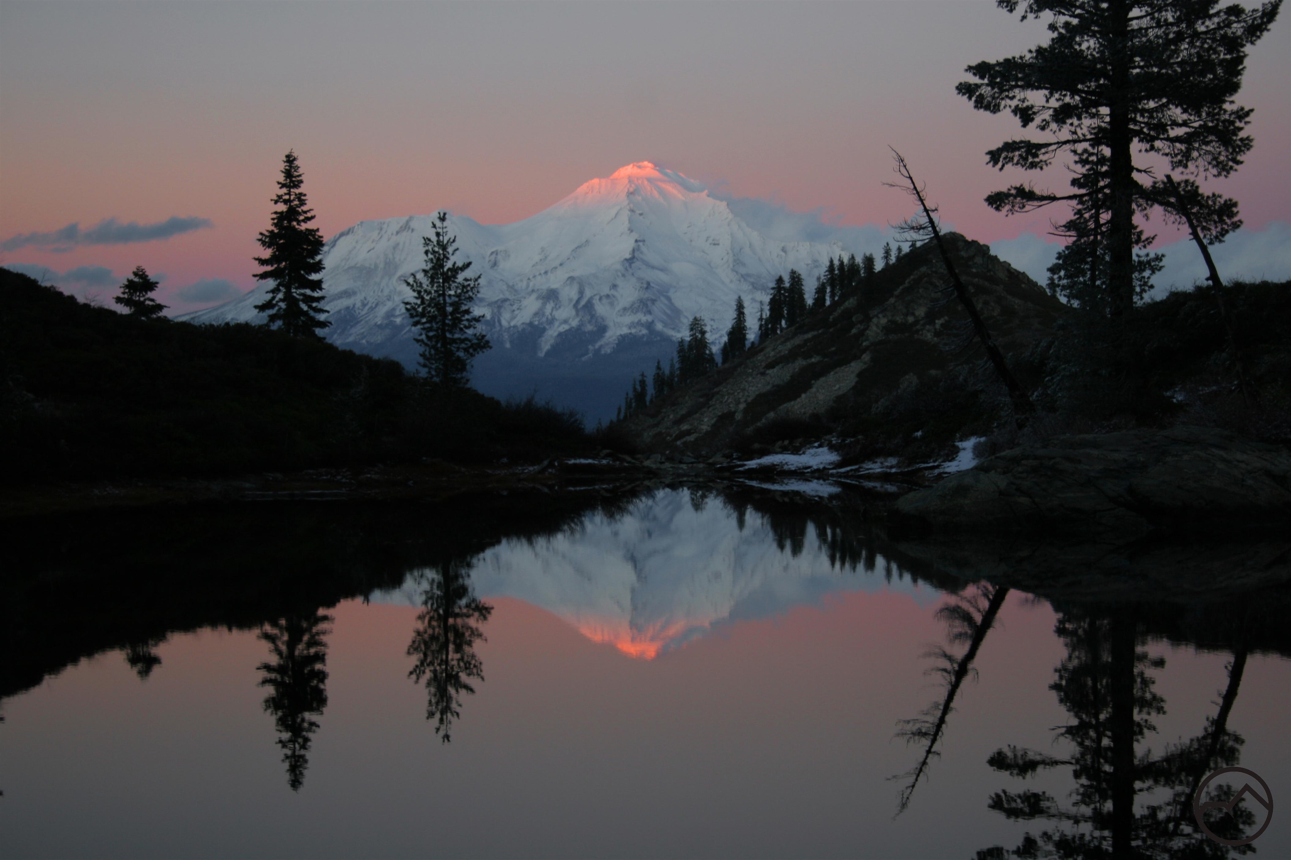 May 2013 Hike Mt Shasta