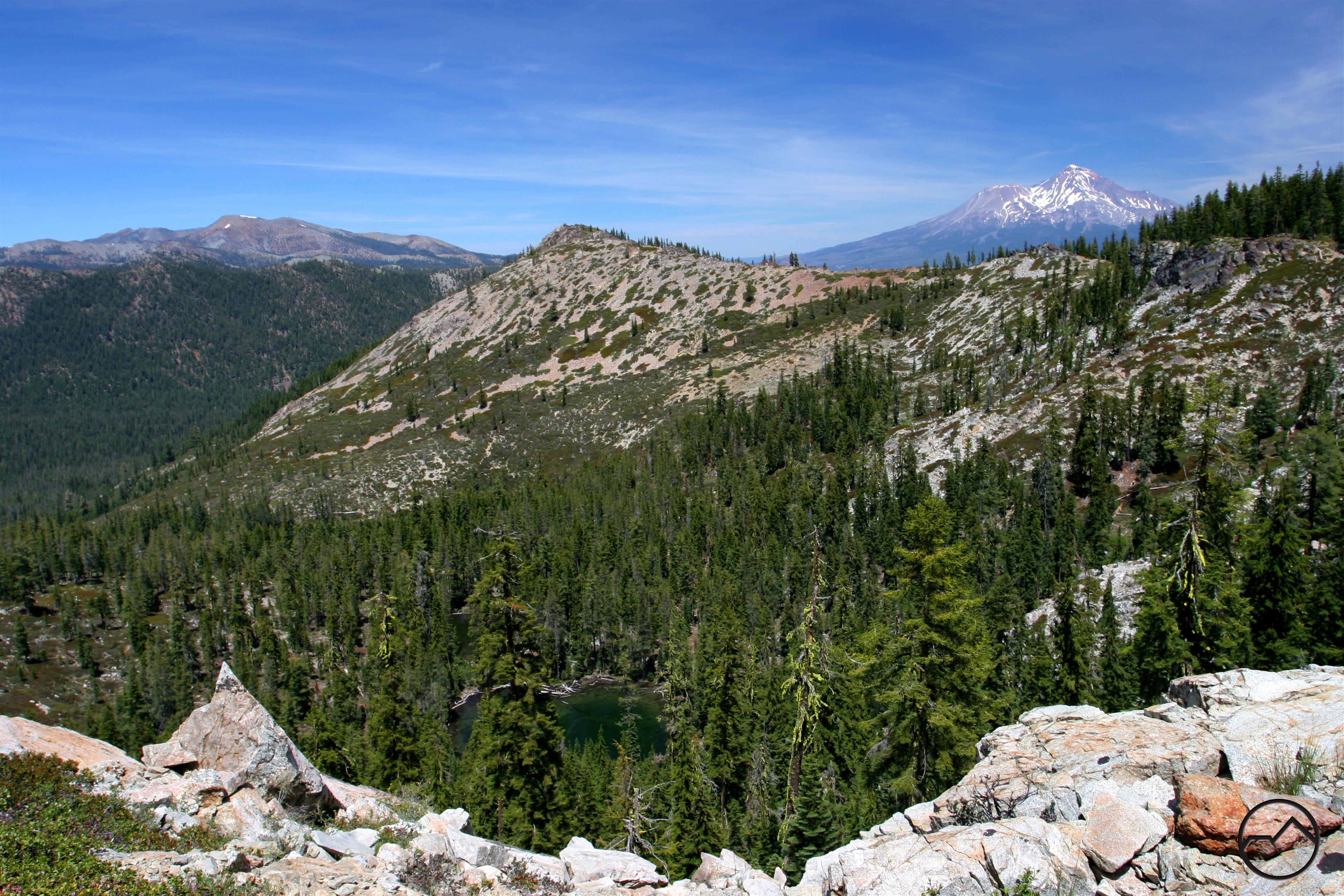 Castle Lake Mount Shasta
