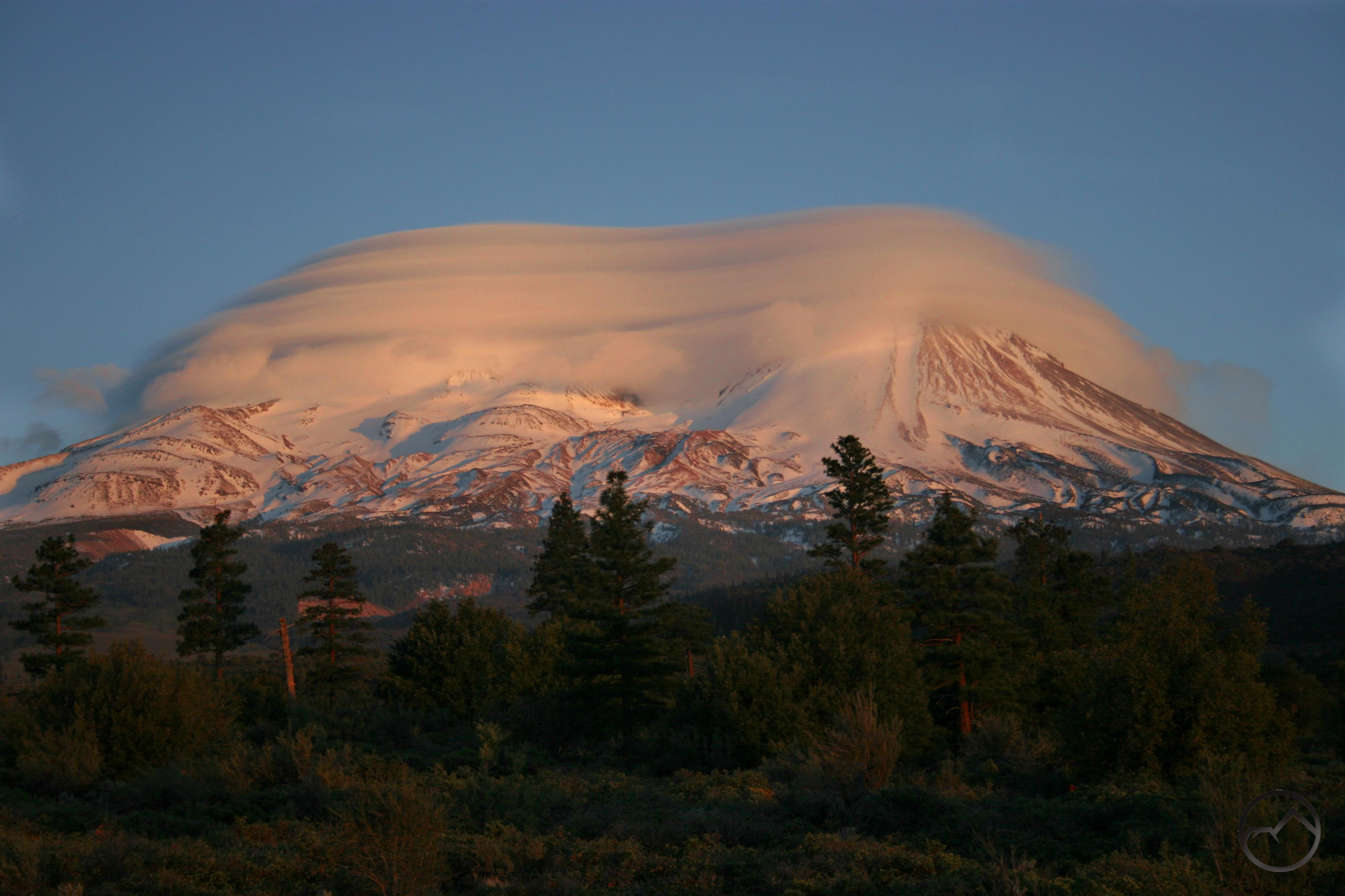 mount shasta in may