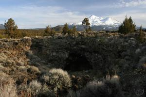Mount Shasta and Pluto's Cave.