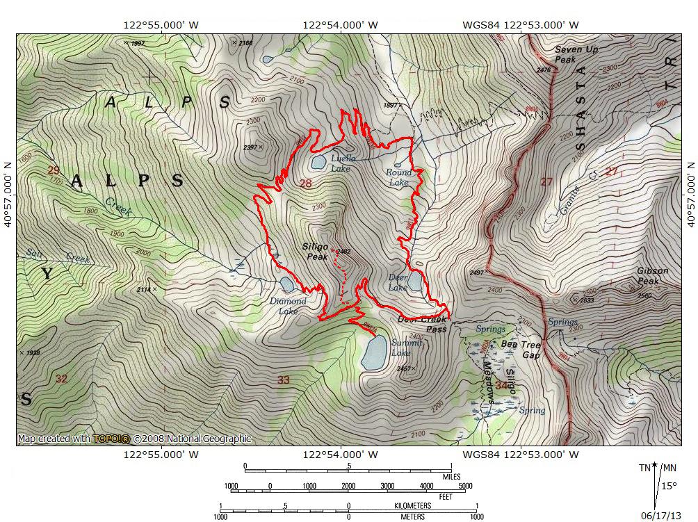 Four Lakes Loop | Hike Mt. Shasta
