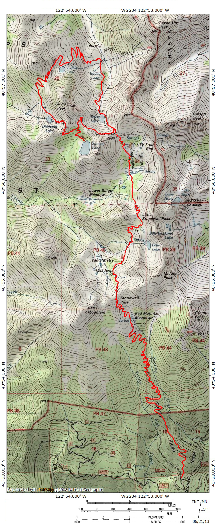 Switchbacks To Heaven: The Trinity Alps\' Stoney Ridge Trail And Four ...