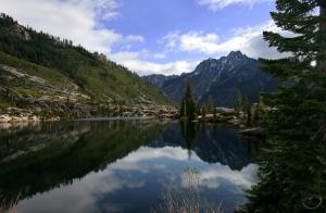 Trinity Alps, Canyon Creek II - May2007 076 copy (Custom)