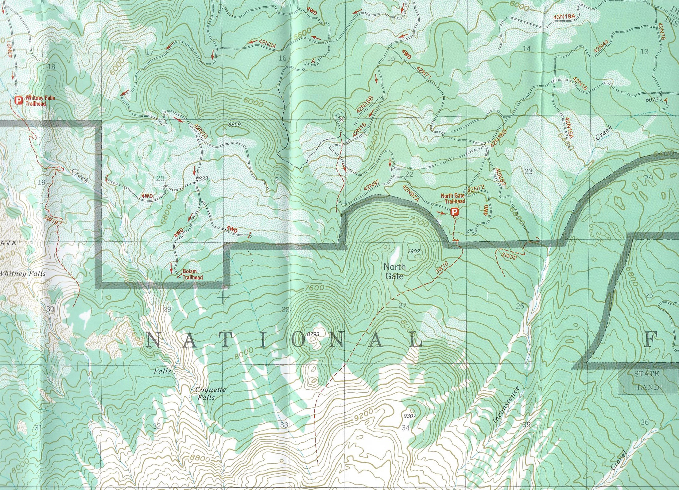 Maps Hike Mt Shasta - Us forest service ecoregion map