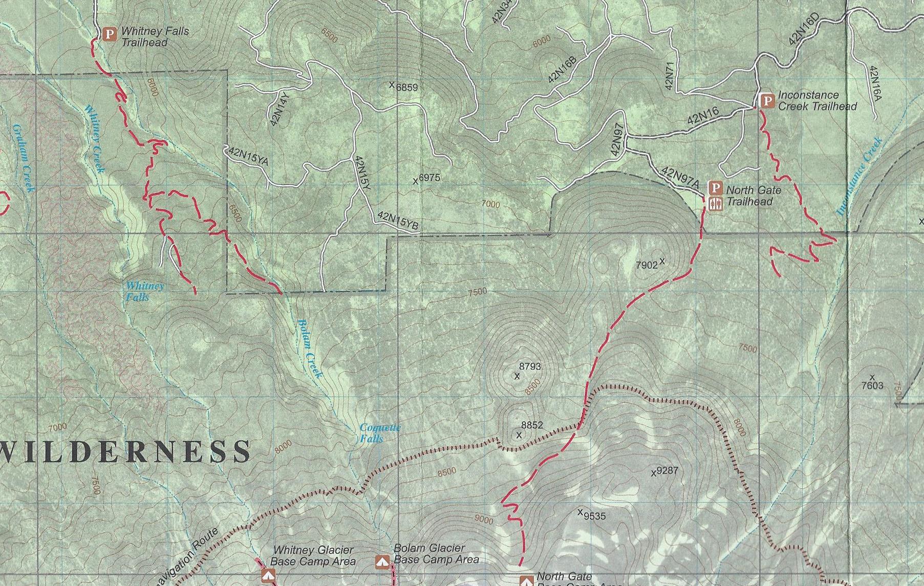 Review: Three Mount Shasta Trail Maps | Hike Mt. Shasta