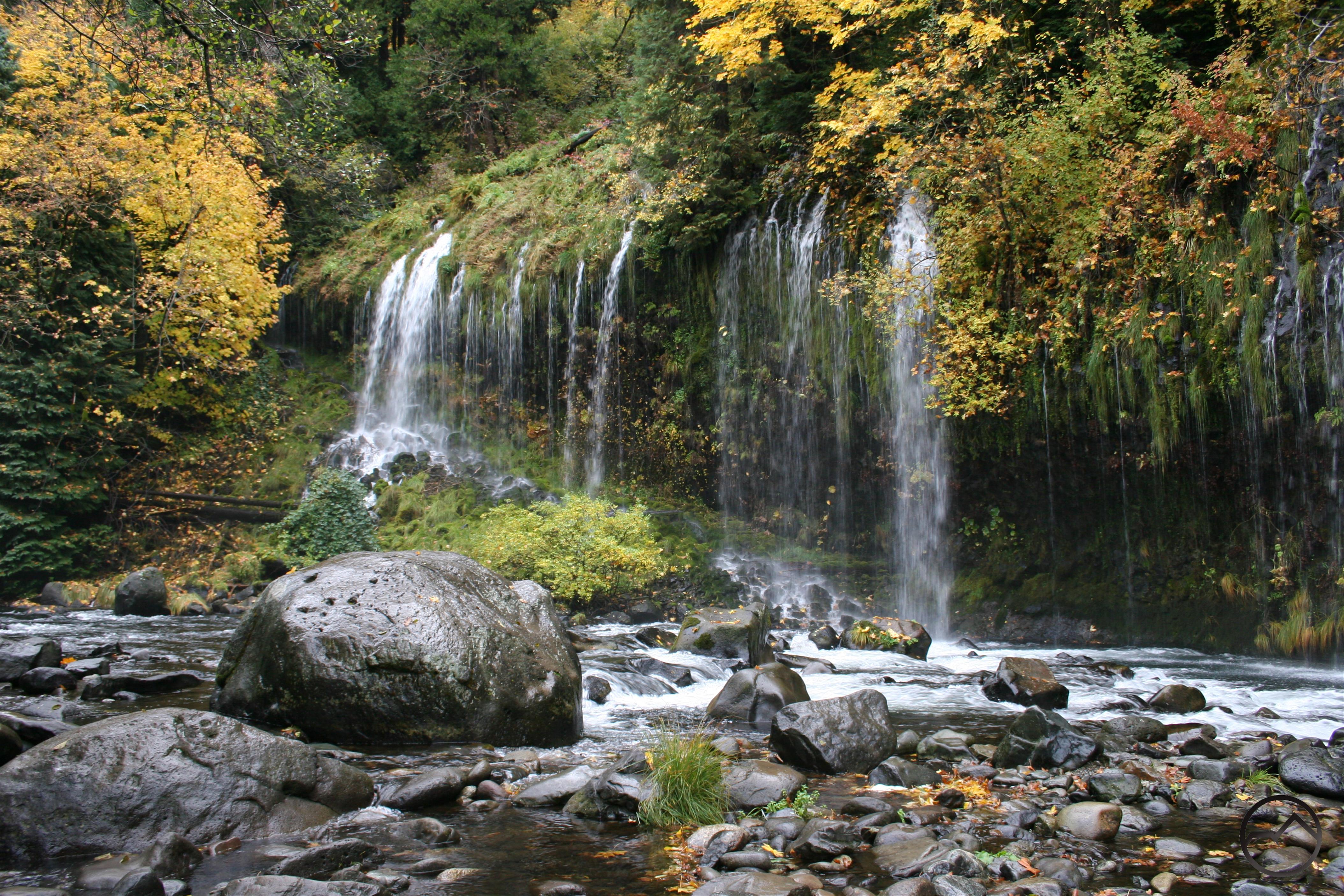 Waterfalls Hike Mt Shasta