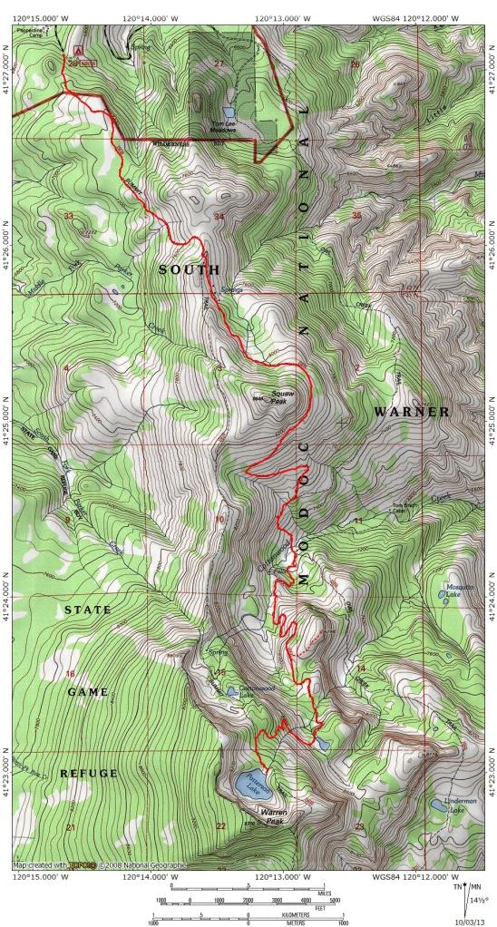 Squaw Peak Trail