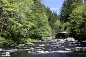 The bridge over the McCloud: a possible template of the Mossbrae Trail.