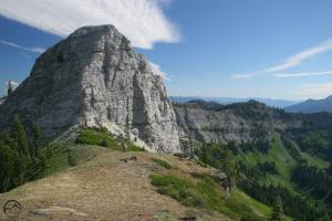 The Marble Mountain in the Marble Mountains Wilderness