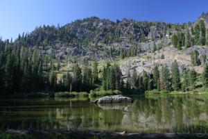 Block Rock Mountain and Black Rock Lake.
