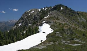 Figurehead Mountain in the Red Buttes Wilderness.