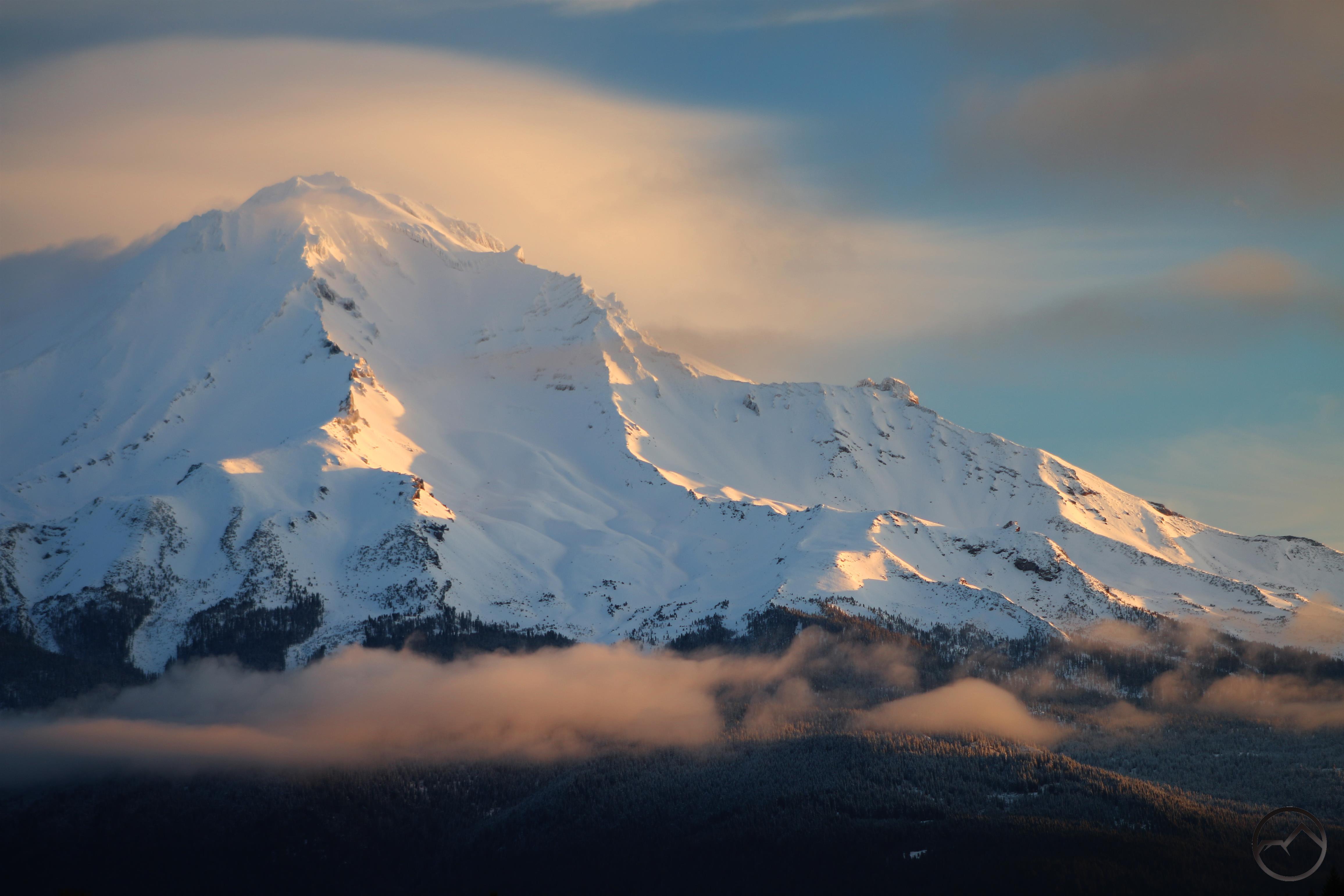 Winter Trails Hike Mt Shasta