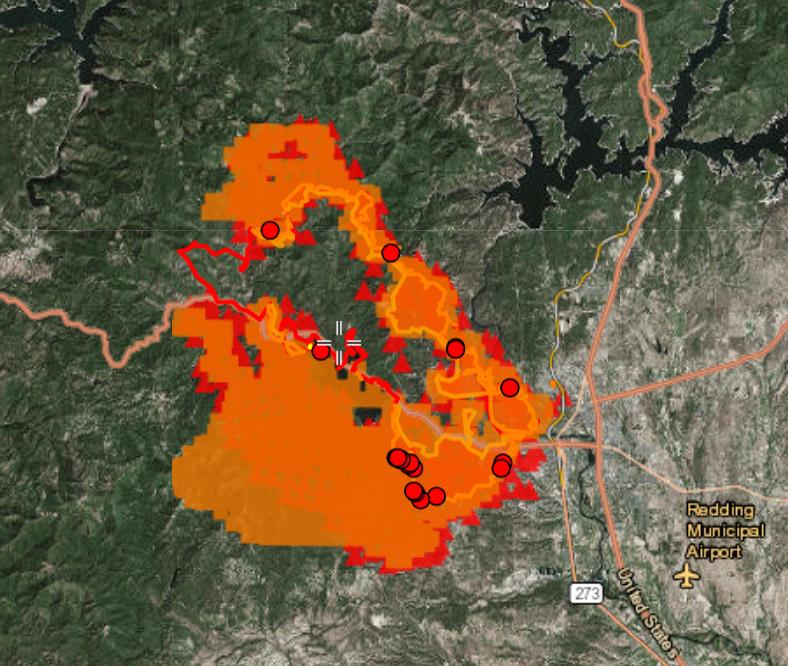 Carr Fire Maps Saturday Hike Mt Shasta