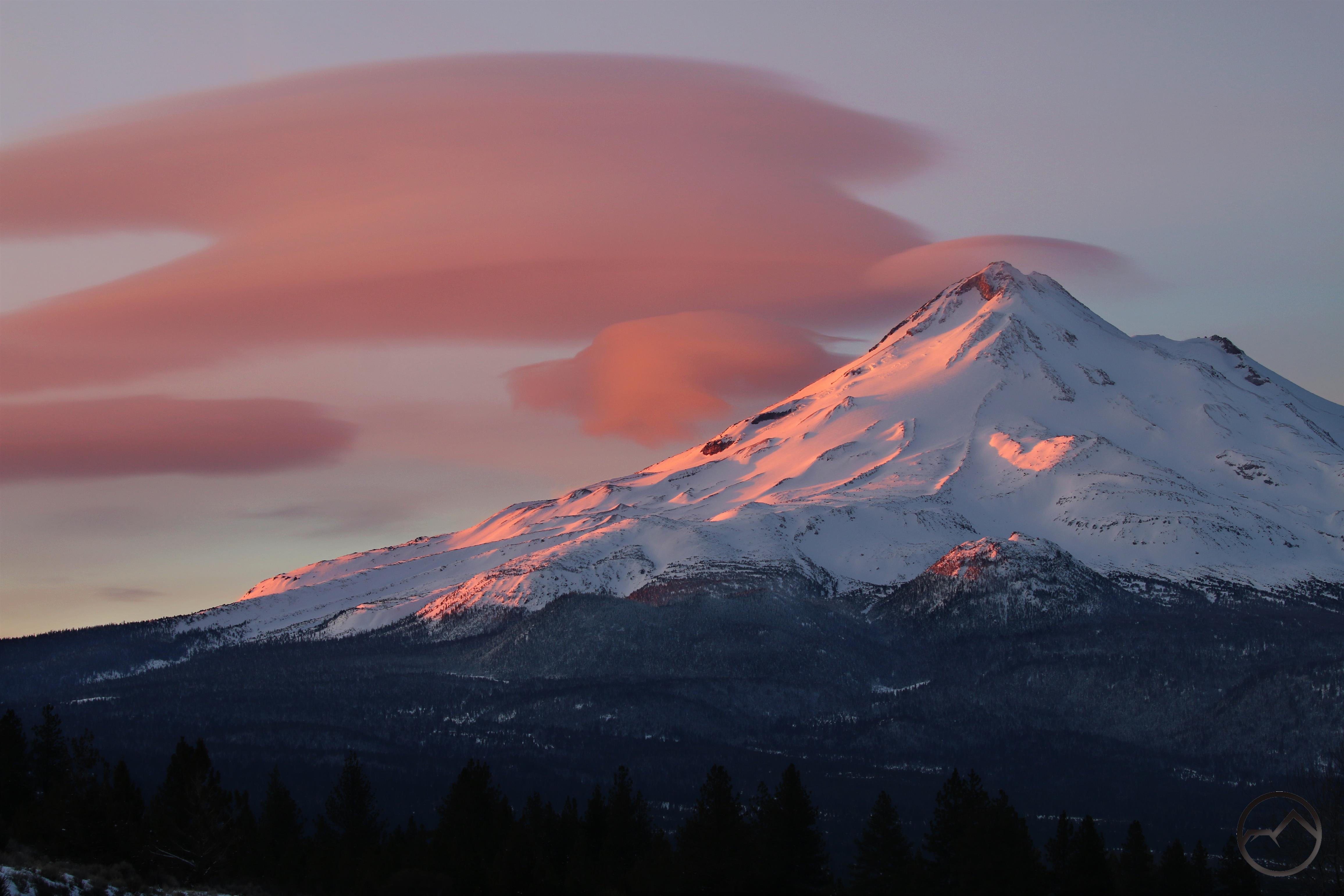 Lenticular Clouds Hike Mt Shasta